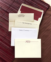Rytex Stationery - Diplomat Cards
