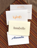 Rytex Stationery - Single Name Notes