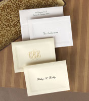 Rytex Stationery - Tri-Bordered Informal Folded Notes