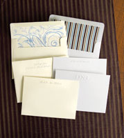 Rytex Stationery - Blind Embossed Cards