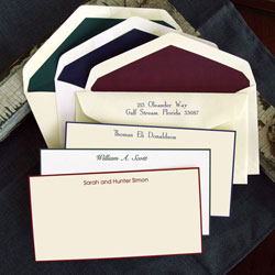 Rytex Stationery - Hand Bordered Cards (Traditional Slender)