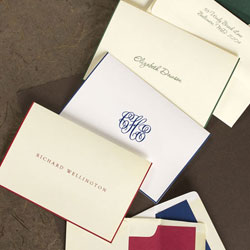 Rytex Stationery - Hand Bordered Notes (Traditional)