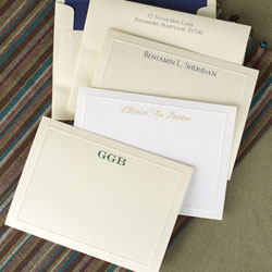 Rytex Stationery - Elegant Blind Embossed Border Cards