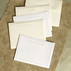 Rytex Stationery - Blind Embossed Border Cards