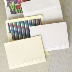 Rytex Stationery - Banks Blind Embossed Cards