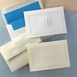 Rytex Stationery - Blind Embossed Border Notes