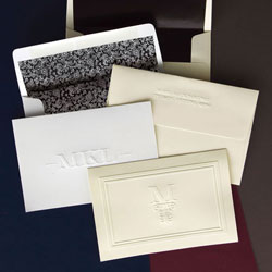 Rytex Stationery - Berkley Blind Embossed Foldnotes