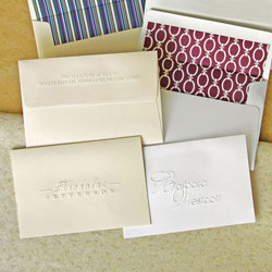 Rytex Stationery - Westcott Blind Embossed Foldnotes
