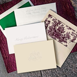 Rytex Stationery - Traditional Blind Embossed Foldnotes