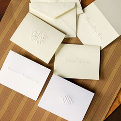 Rytex Stationery - Embossed Gift Enclosure Cards
