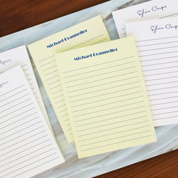 Rytex Stationery - Classic Ruled Memo Notepads