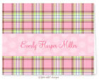 Take Note Designs - Stationery/Thank You Notes (Everly Harper Plaid)