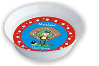 Pen At Hand Stick Figures - Melamine Bowls (Baseball)