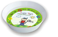 Pen At Hand Stick Figures - Melamine Bowls (Critters)
