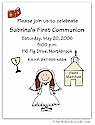 Pen At Hand Stick Figures - Invitations - Communion 2