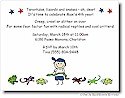 Pen At Hand Stick Figures - Invitations - Critters