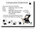 Pen At Hand Stick Figures - Invitations - Graduation 2