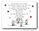 Pen At Hand Stick Figures - Invitations - Soccer (color)