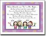 Pen At Hand Stick Figures - Invitations - Bachelorette-4