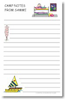 Pen At Hand Stick Figures - Large Full Color Pads (Bunk Girl)