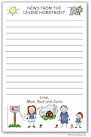Pen At Hand Stick Figures - Large Full Color Pads (Camp Home)