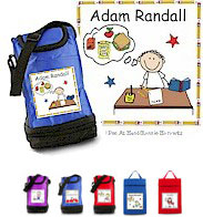 Pen At Hand Stick Figures - Lunch Sack - School Desk
