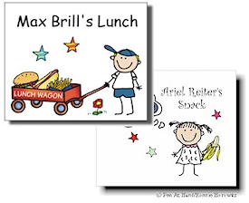 Lunch/Snack Stickers