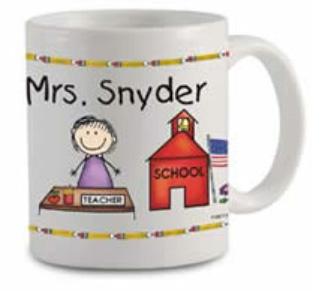 Pen At Hand Stick Figures - Mug (Teacher - Lady)