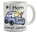 Pen At Hand Stick Figures - Mug (Mom/Grandma)
