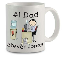 Pen At Hand Stick Figures - Mug (Dad/Grandpa)