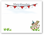 Pen At Hand Stick Figures - Theme Stationery (Picnic)