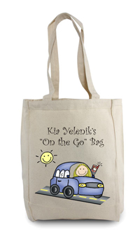 Pen At Hand Stick Figures - Tote Bag - On The Go Tote Bag