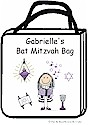 Pen At Hand Stick Figures - Tote Bag - Bat Mitzvah Tote Bag