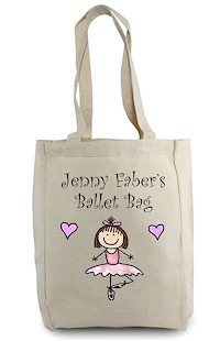 Pen At Hand Stick Figures - Tote Bag - Ballerina