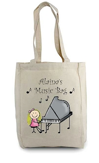 Pen At Hand Stick Figures - Tote Bag - Music