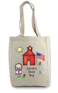 Pen At Hand Stick Figures - Tote Bag - Schoolhouse