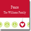 Boatman Geller Holiday Gift Stickers - Peace Repeat Holiday