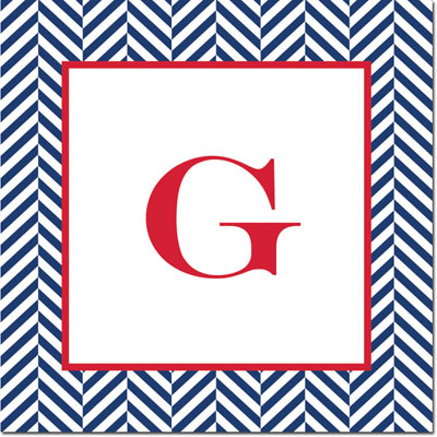 Boatman Geller - Create-Your-Own Gift Stickers (Herringbone)