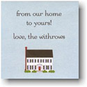Boatman Geller Gift Stickers - House