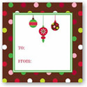 Boatman Geller Holiday Gift Stickers - Ornaments