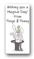 Dinky Designs Gift Stickers - Magical Rabbit (110M)