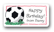 Dinky Designs Gift Stickers - Soccer Ball