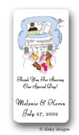 Dinky Designs Gift Stickers - Wedding Day