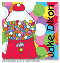 Dinky Designs Gift Stickers - Goodie Gumballs (Square) (SQ1-518G)