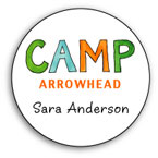 Camp Labels & Stickers
