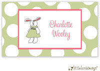 Little Lamb Design Gift Stickers - Cute Bunny