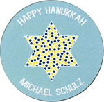 Picture Perfect Hanukkah Stickers - Star of David
