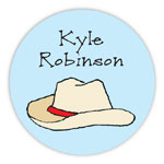 Chatsworth Robin Maguire - Gift Stickers (Cowboy Gear) (DS-14-190)