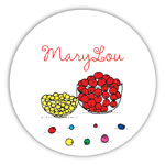 Chatsworth Robin Maguire - Gift Stickers (Beads) (DS-14-482)