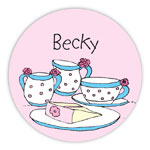 Chatsworth Robin Maguire - Gift Stickers (Tea Party) (DS-14-497)